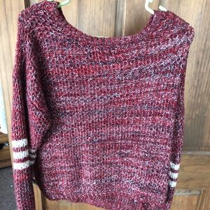 Sweaters - Red Sweater